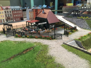 鉄道模型 レンタルレイアウト 欧州風イメージ画像4