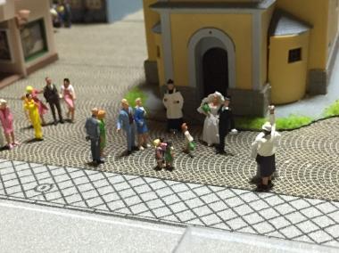 鉄道模型 レンタルレイアウト 欧州風イメージ画像9