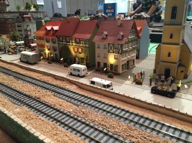 鉄道模型 レンタルレイアウト 欧州風イメージ画像10