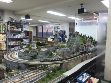 鉄道模型 レンタルレイアウト HOゲージ欧州風イメージ画像13
