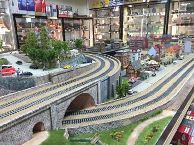鉄道模型 レンタルレイアウト HOゲージ欧州風イメージ画像1