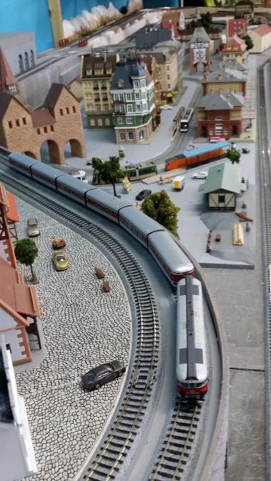 鉄道模型 レンタルレイアウト 欧州風4