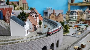 鉄道模型 レンタルレイアウト 欧州風5