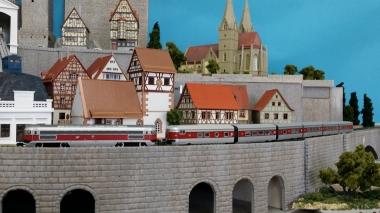 鉄道模型 レンタルレイアウト 欧州風6