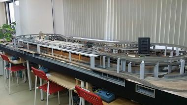 鉄道模型レンタルレイアウト(都市型1)